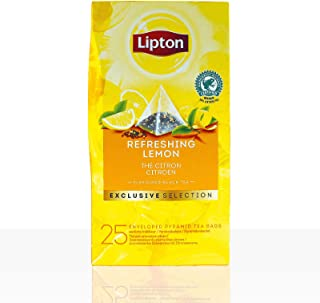 Lipton Tee Exclusive Selection Refreshing Lemon Schwarztee 6 x 25 Beutel á 1,7g