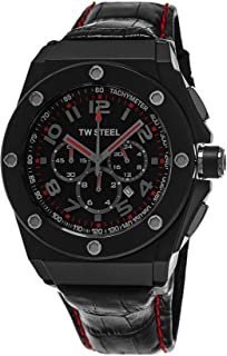 TW Steel Watch for Men, Leather, CE4008