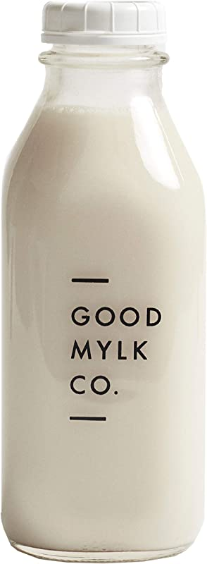 Glass Quart Bottle Goodmylk Co Perfect For Making Goodmylk Co Plant Milk Concentrates Almond Milk Hemp Milk 32 Oz