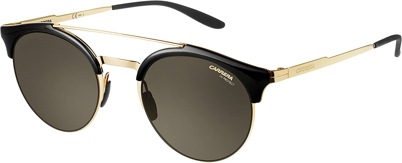 Carrera Women's 141 s Round Sunglasses, gold, 51 mm