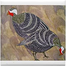 CafePress - Guinea Hens - Tile Coaster, Drink Coaster, Small Trivet