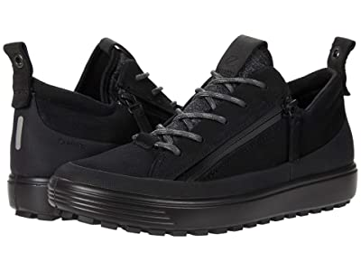 ECCO Soft 7 Tred Zip GORE-TEX(r) Sneaker (Black) Women