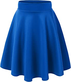 Made By Johnny Women's Basic Versatile Stretchy Flared...