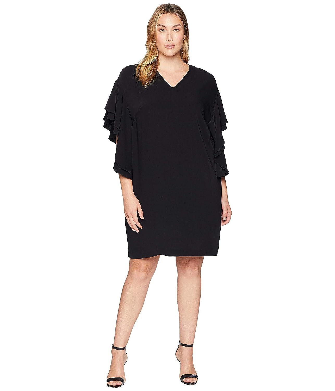 [ラルフローレン] レディース ワンピース Plus Size Flutter-Sleeve Shift Dress [並行輸入品]