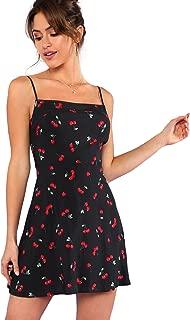 Women's Halter Neck Floral Print A-Line Mini Dress