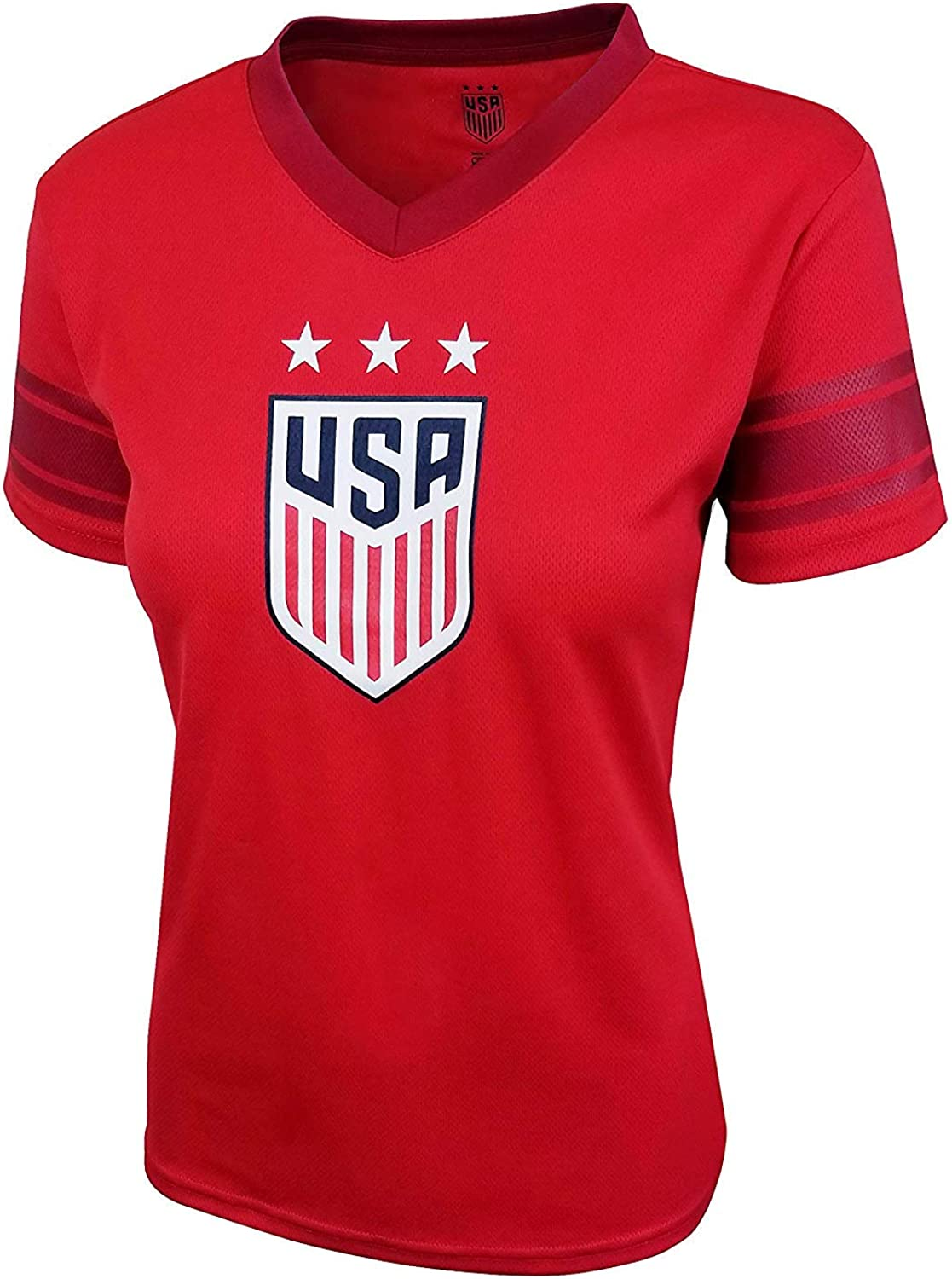 Icon Sports Group U.S.Soccer USWNT 55% OFF Soccer Women's Stadium discount Polyme