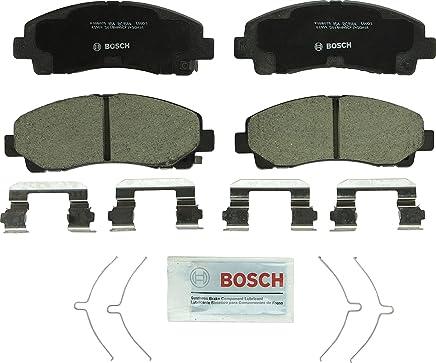 Bosch BC1584 QuietCast Premium Ceramic Disc Brake Pad Set For 2015-2017 Acura TLX; 2012-2014 Honda Ridgeline; Front