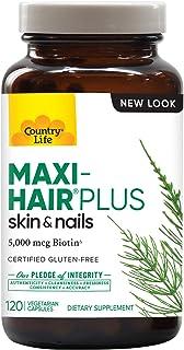 Country Life Maxi-Hair Plus Capsules 120's