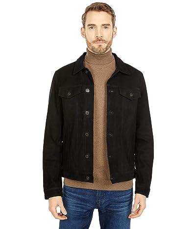 Selected Homme Jeppe Suede Jacket (Black) Men