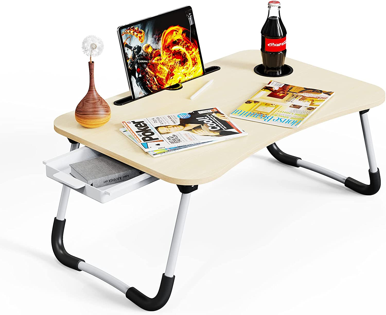 Lap Desk Foldable Laptop Table sale 2 Fashion Portable Bed Standing for