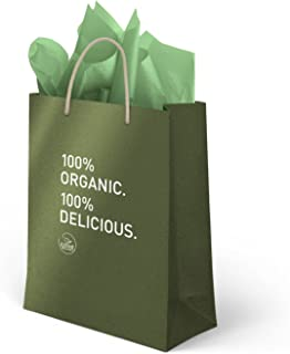 Kiss Me Organics - Beautiful Branded Gift Bag and Gift Tissue Paper