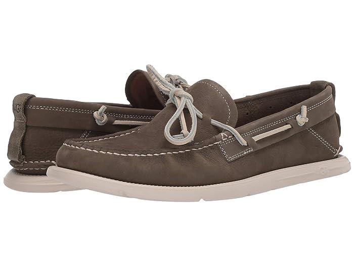 UGG  Beach Moc Slip-On (Moss Green) Mens Shoes