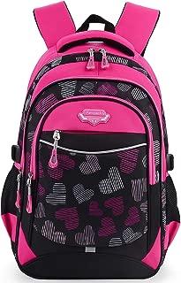Backpack for Girls, Fanspack Kids School Backpack 2019 New Girls School Bags Bookbags en Nylon
