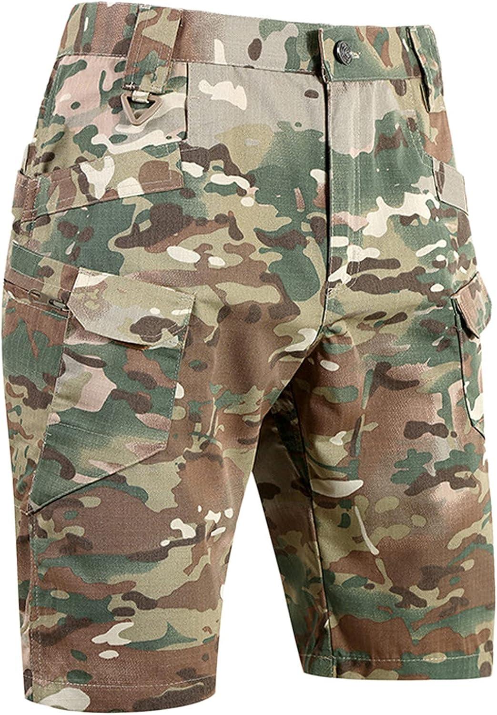 Cargo Shorts for Men Knee Length Versatile Pockets Casual Shorts Summer Outdoor Cycling Sports Pants - Limsea