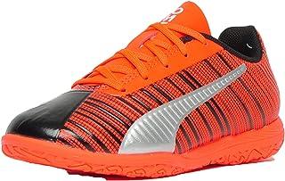Puma Unisex-Child One 5.4 It Jr Black-nrgy Red-p Football Shoes