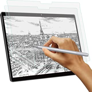 Paper Texture Screen Protector for Microsoft Surface Pro X, Write/Sketch Like on Paper, Anti-Glare Matte PET Screen Film f...
