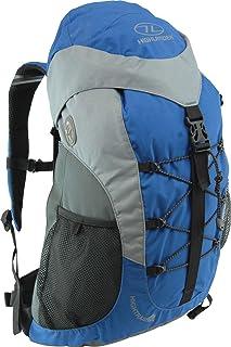 HIGHLANDER High Trail - Mochila de Senderismo, Color Azul, Talla 30 L