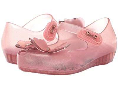 Mini Melissa Ultragirl Fly III BB (Toddler/Little Kid) (Pink Glitter) Girl
