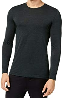 Men's Base Layer Crew Neck Shirt Ivy Green Medium
