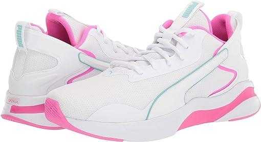 Puma White/Luminous Pink