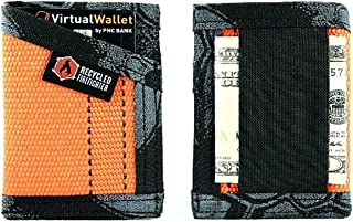 Recycled Firefighter The Fire Hose Sergeant Wallet - Front Pocket Wallet, Orange/Typhon