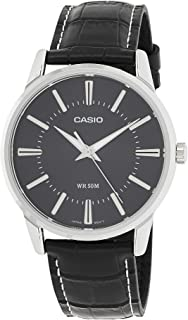 Casio Men's Analog Dial Leather Band Watch - MTP-1303L-1AVDF