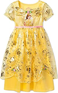 Disney Princess Beauty and The Beast Yellow Fantasy Nightgown (Toddler)