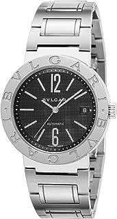[ブルガリ] 腕時計 ブルガリブルガリ ブラック文字盤 自動巻 BB38BSSD AUTO 並行輸入品 シルバー