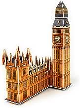 TriPro 3D Jigsaw Puzzle Worlds Greatest Architecture DIY Model Set (London Big Ben)