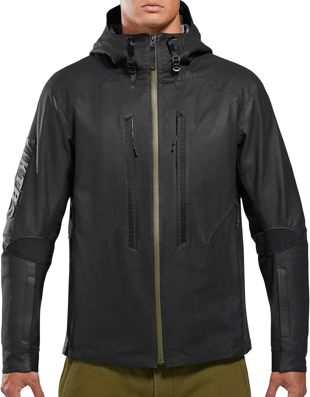 VIKTOS Men's Actual Waterproof Leather Jacket