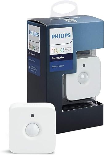 Philips 8718696743171 Détecteur de mouvement Plastique/Matières synthétiques Blanc 5, 5 x 3, 5 x 5, 5
