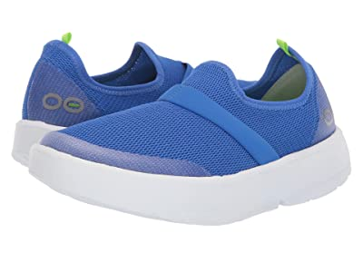 OOFOS Oomg (White/Blue) Women