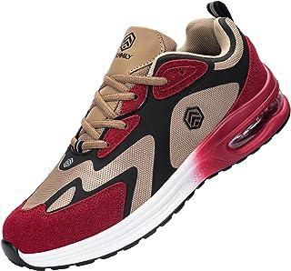 Fenlern Zapatillas de Seguridad Hombre Mujer Ligeras S1 Zapatos de Seguridad Trabajo Punta de Acero Calzado de Seguridad c...