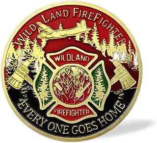 Wildland Firefighter Brotherhood Challenge Coin