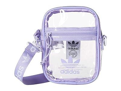 adidas Originals Originals Clear Festival Crossbody (Glow Purple) Cross Body Handbags