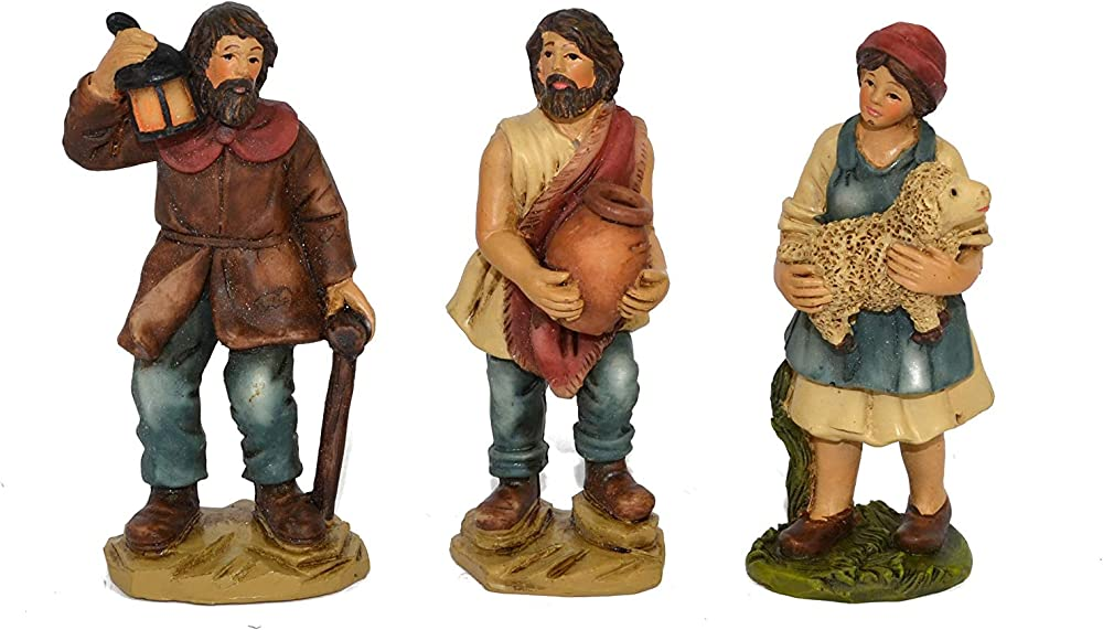 Set 24 statue presepe di qualità