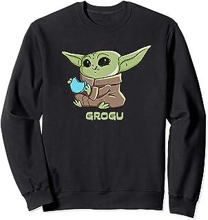 Star Wars The Mandalorian The Child Grogu Blue Macaron Sweatshirt