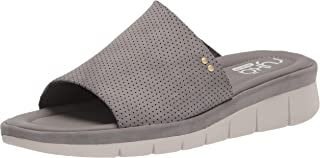 Ryka Women's Ellie Slide Sandal, Charcoal Grey, 7.5