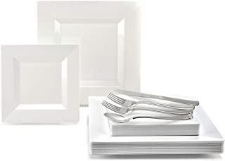 Best plastic disposable dinnerware for weddings Reviews