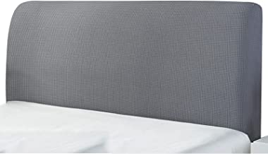 Bed Head Board Cover All-Inclusive Bed Head Back Protector Elastic Headboard Dust Slipcover for Home Bedroom Hotel Decor (...
