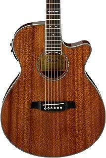 ibanez aeg12ii nt acoustic electric guitar natural