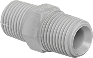 1//2 Nylon 1//2 1//4ID Tube Value Plastics Tee Reduce Connector 1//4ID Tube 500 Series Barbs