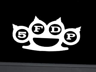 Five Finger Death Punch 5FDP Vinyl Decal Sticker 71003A (Silver)