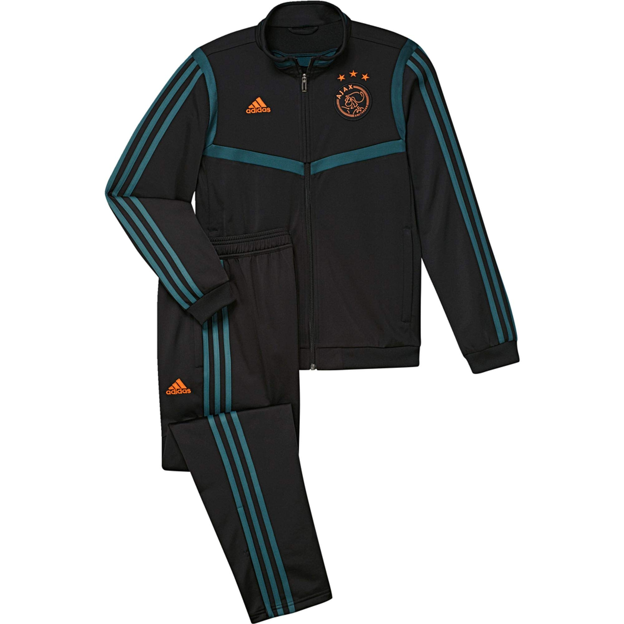adidas AJAX PES Suit Y Chándal, Unisex niños, Negro/Vertec, 176 ...