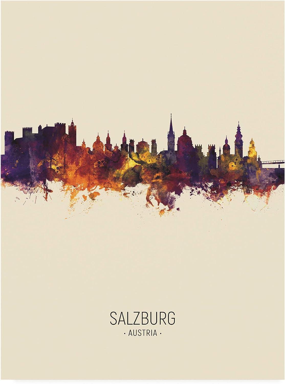Max 74% OFF Trademark NEW before selling Fine Art Salzburg Austria III Skyline Mich Portrait by