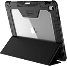 Nillkin iPad Pro 9.7 2018 Case, Full Body Protective Bumper Shockproof Case with Apple Pencil Holder, Auto Wake/Sleep and Free Super Clear Screen Protector for iPad Pro 9.7-inch, iPad 9.7-inch(2018)