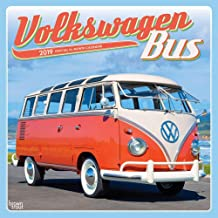 Volkswagen Bus 2019 Wall Calendar