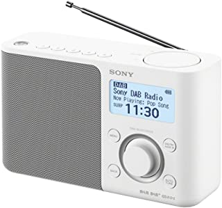 Sony XDR-S61D Portable Digital Radio with Sound - White