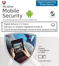 McAfee Mobile Security - 1 Device, 1 Year - Product Key (Email Delivery in 2 hours- No CD)