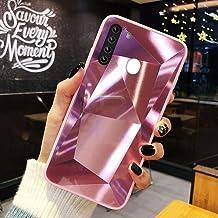URFEDA Compatibel met Samsung Galaxy A21 telefoonhoesje Diamond Glitter Case met spiegeleffect Sparkly Bling TPU Siliconen...